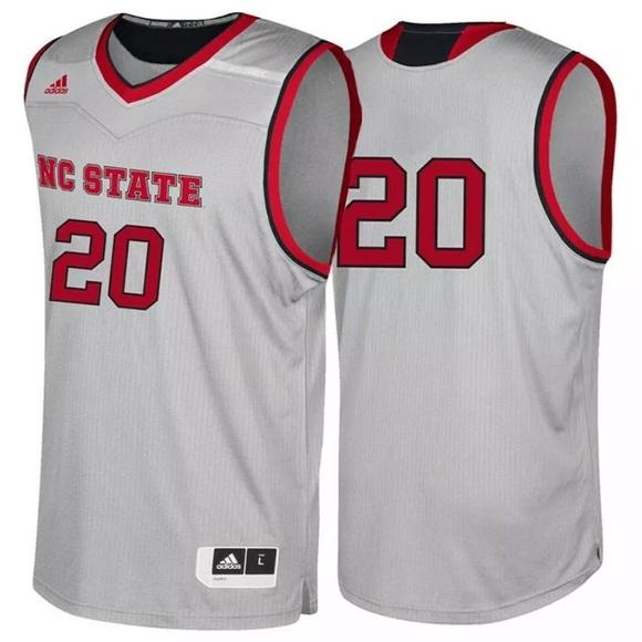 619bc082b adidas Shirts | Ncaa Basketball Nc State Jersey Wolfpack | Poshmark